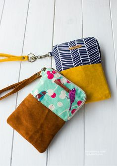 No 675 jamie phone & wallet pouch pdf sewing pattern - instant Pochette Portable, Pochette Diy, Pdf Sewing Patterns, Sewing Tutorials, Sewing Crafts, Bag Tutorials, Purse Patterns, Tutorial Sewing, Tape Crafts