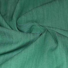 Tissu Demin Vert Stretch
