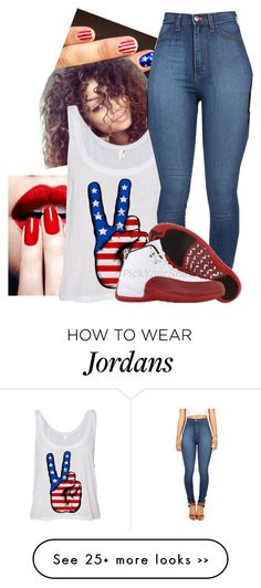 """Happy 4th Of July!!!!!!!! <3"" by alyssahorne10 on Polyvore"
