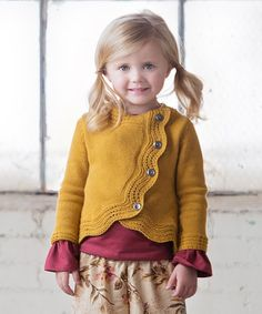 Another great find on #zulily! Gold Amelia Sweater - Infant & Toddler #zulilyfinds Persnickety