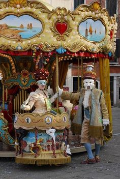 2008 – Winner – Luna Park – World of Costumes – by Tanja Schulz-Hess Venetian Costumes, Venetian Carnival Masks, Carnival Of Venice, Masquerade Costumes, Vintage Carnival, Vintage Circus, Carnival Themes, Circus Theme, Carnival Costumes