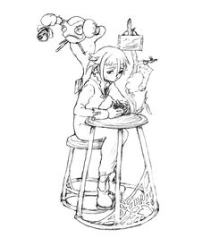 emo bear coloring pages | emo-anime-coloring-pages-19 | Anime/Manga/drawings ...