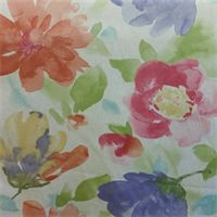 Mantra Spring Floral Drapery Fabric by P Kaufmann