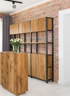 ikea ivar - normally all light, but this has frame black (metal effect spray?) and doors stained. Around £400.