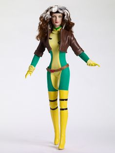 Rogue, from Marvel Comics X-Men, by Tonner Dolls