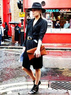 Die Londonerinnen sind Meisterinnen im Mixen von Alt und Neu.