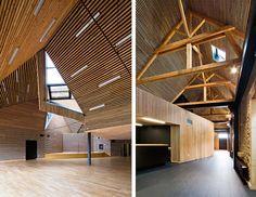 techos de madera modernos - Buscar con Google