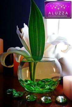 Gemas De Cristal Decorativas Color Verde Manzana..aluzza Muu