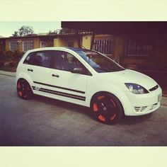 """Ford fiesta mk6 2004 17"""" Ag Kits ST Sparco Car Engine, Ford Focus, Cherokee, Cars And Motorcycles, Collection, Exotic Cars, Motorbikes, Pimped Out Cars, Fiestas"""