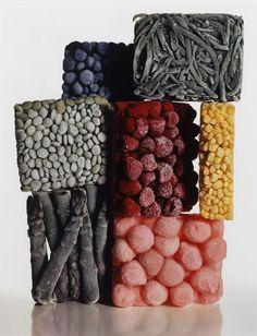 Irving PENN :: Frozen Foods with String Beans, New York, 1977