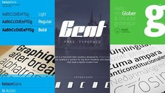 Download 30 Best Free Fonts 2014