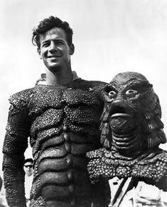 Florida Memory - 1953 Ricou Browning in his movie costume at Wakulla Springs