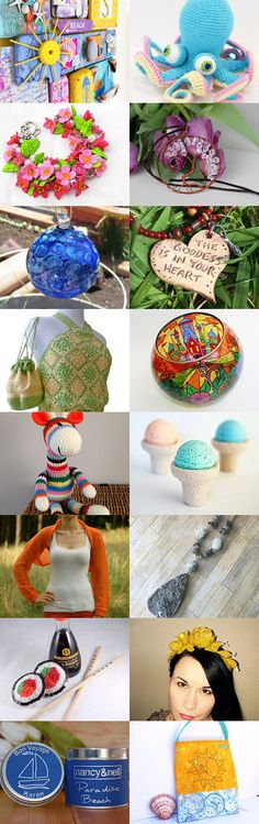 Happy Summer Treasury by Happy Smile on Etsy--Pinned+with+TreasuryPin.com Happy Summer, Love To Shop, Happy Smile, Etsy Seller, Handmade Items, Shops, Invitations, My Favorite Things, Yellow