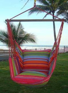 hanging hammock chair   going coastal  fort galore in this free standing hammock chair   hammock and      rh   pinterest