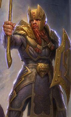 Bruenor Battlehammer - Todd Lockwood