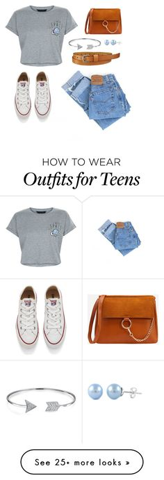 """""""#1"""" by amber-schildermans on Polyvore featuring New Look, Levi's, Converse, Bling Jewelry and Uniqlo"""