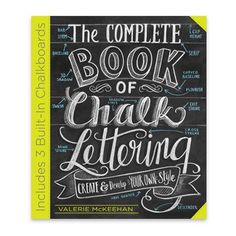The Complete Book of Chalk Lettering - Signed Copy. Learn how to DIY chalk lettering and chalk art. How to of chalk art. Chalkboard Writing, Diy Chalkboard, Chalk Writing, Chalkboard Drawings, Chalkboard Pictures, Chalkboard Doodles, Chalkboard Printable, Chalk Lettering, Lettering Guide