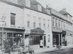 16 - 20 Bartholomew Street. c1885