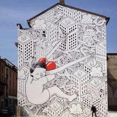 Jericho to Rome (Big City Life street art)