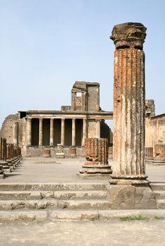 Basilica, Pompeii Italy Rome Architecture, Pompeii Italy, Interior Exterior, Pisa, Tower, Explore, Building, Buildings, Architecture