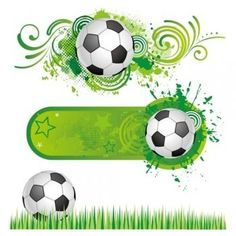 Illustration about soccer sport design element. Illustration of grunge, silhouette, creative - 15439860 Soccer Birthday, Soccer Party, Sports Party, Football Themes, Plant Vector, Kids Soccer, Vector Flowers, Pattern Wallpaper, Graphic Design Art