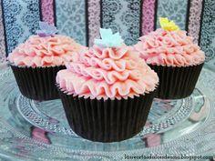 Las recetas dulces de Ana: Cupcakes de chicle