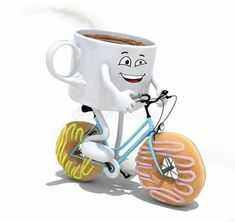 Running on coffee and donuts lol Good Morning Smiley, Morning Love, Good Morning Greetings, Good Morning Good Night, Good Morning Quotes, Italian Memes, Morning Thoughts, Genius Quotes, Cute Wallpaper For Phone