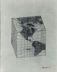 Study of Distortions; Isometric Systems in Isotropic Space-Map Projections: The Cube, Agnes Denes