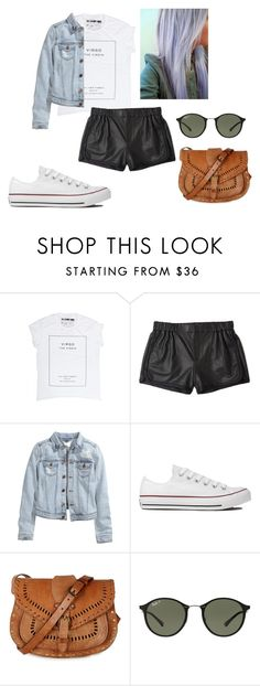 """Sem título #39"" by yasmimmelo ❤ liked on Polyvore featuring beauty, Thakoon Addition, H&M, Converse, Warehouse and Ray-Ban"