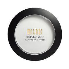 Milani Prep & Set & Go Transparent Face Powder