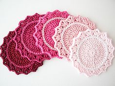 Ravelry: Set of Ombre Coasters pattern by Marinke Slump