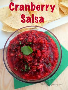 Cranberry Salsa Reci