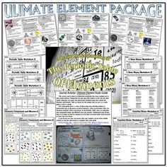 Aqa 9 1 chemistry atomic structure and the periodic table revision bundle ultimate element package urtaz Image collections