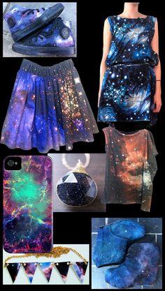 Cosmic prints, so beautiful!