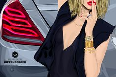 Highsnobiety x KIPPENBERGER | The New Mercedes-Benz S-Class Illustrated