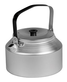 Trangia Aluminium Kettle (1.4-Liter) - Check this out at... http://backpackingandcampingessentials.com/camping-kettles/trangia-aluminium-kettle-1-4-liter/
