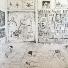 """""""How to sleep on the floor comfortably (150x120 cm) detail #drawing"""""""