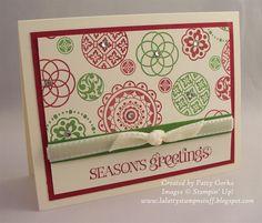 LaLatty Stamp 'N Stuff: Circle Circus Christmas ~ July 19, 2012