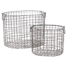 2 Piece Monroe Basket Set