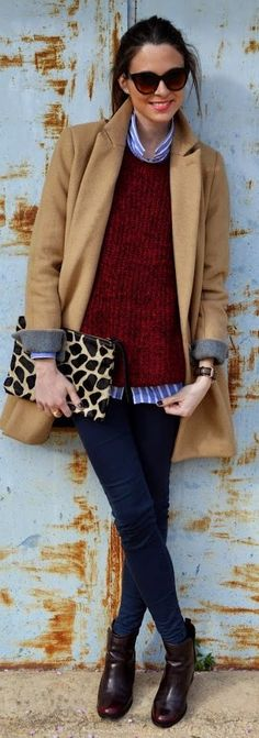 Workwear Inspiration Winter Outfit by Look For Time