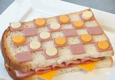 Meriendas originales: Marchando una de sandwiches divertidos - Recetín