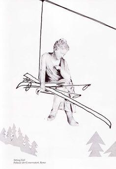 Stone Is Not Cold: Miroslav Šašek's Playful Vintage Children's Illustrations of Classical Sculpture   Brain Pickings