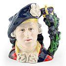 Bonnie Prince Charlie D6858  Large  Royal Doulton Character Jug
