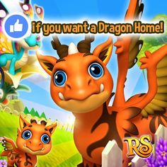 Do you wanna build a Home for your Dragons?  Then hit LIKE if your answer is YES!   If there are more than 4000 LIKES from all versions tomorrow King Jarvis will bring the Dragon Home to the Shop very soon!   The deadline is Wednesday 7:00 AM (UTC time) May 17th 2017. LIKE NOW! Together we can win!  Share this post to ask your friends to hit LIKE too! Let's play Royal Story together!  http://t.funplus.com/trenfpu #RoyalStoryTwitter