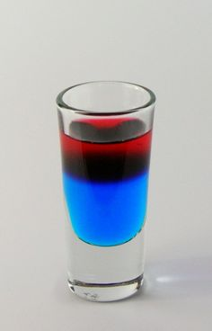 Porn Star Shooter Bols Blue Curacao Raspberry Liqueur Convert Units LAYER Pour blue curacao in a shooter glass. Layer raspberry liqueur on top of the blue curacao. Refreshing Drinks, Summer Drinks, Fun Drinks, Alcoholic Drinks, Party Drinks, Mixed Drinks, Cocktails, Cocktail Drinks, Cocktail Recipes