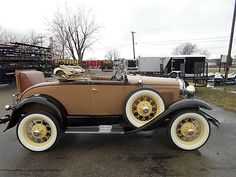 Ford : Model A Roadster 1930 Ford Model A Roadster - http://www.legendaryfinds.com/ford-model-a-roadster-1930-ford-model-a-roadster/