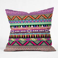 Bianca Green Overdose Throw Pillow