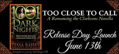 Julalicious Book Paradise: Release Day Launch: Too Close To Call by Tessa Bai...