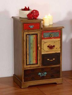 Mueble Auxiliar de Madera : Coleccion INDI. Hermosos!!