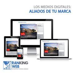 #RankingWeb pone en práctica estrategias para que tu marca sea reconocida a través de los distintos medios digitales.